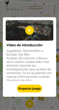 captura de la APP de EscapeCityBox 1 1